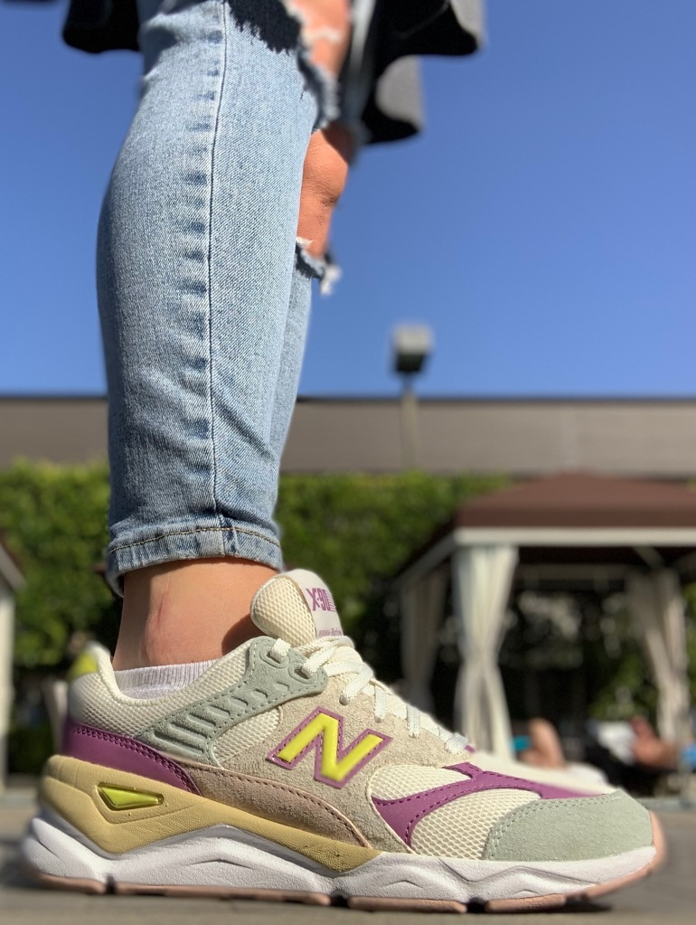 work from home shoes, new balance x reformation, sneakers