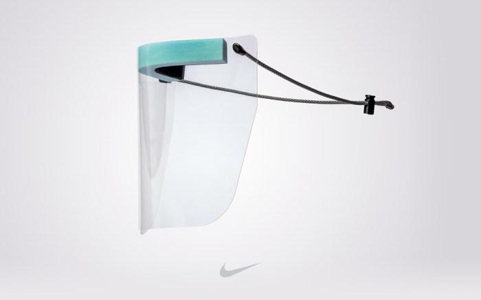 Nike, face shield, ppe