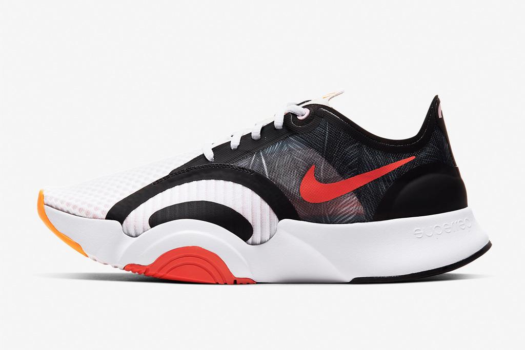 nike, sneakers, red, black, hiit, trainer