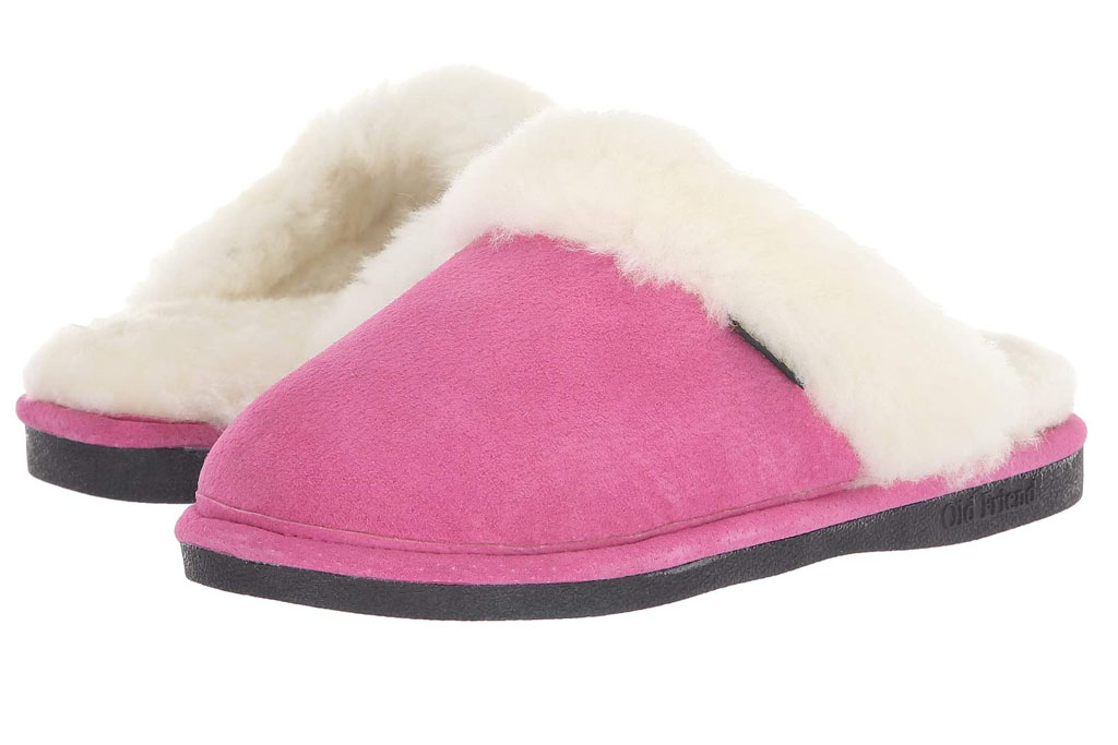 old friend, slippers, hot pink