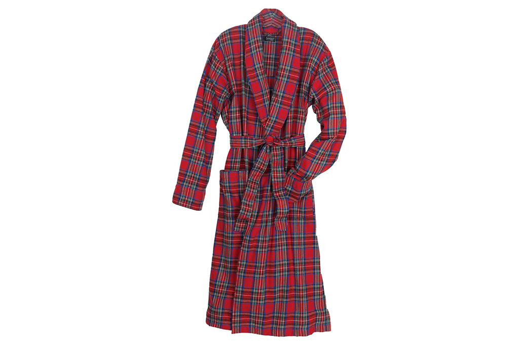 pajamagram, robe, plaid, red