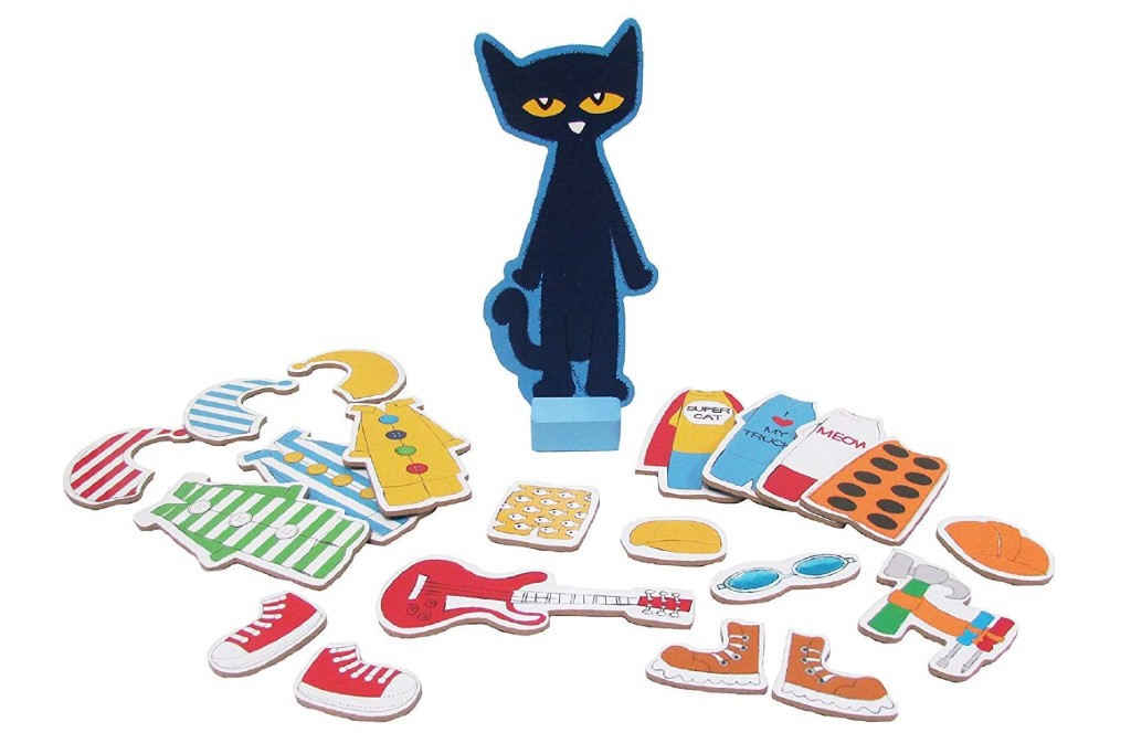 kids preferred pete the cat magnetic dress up set