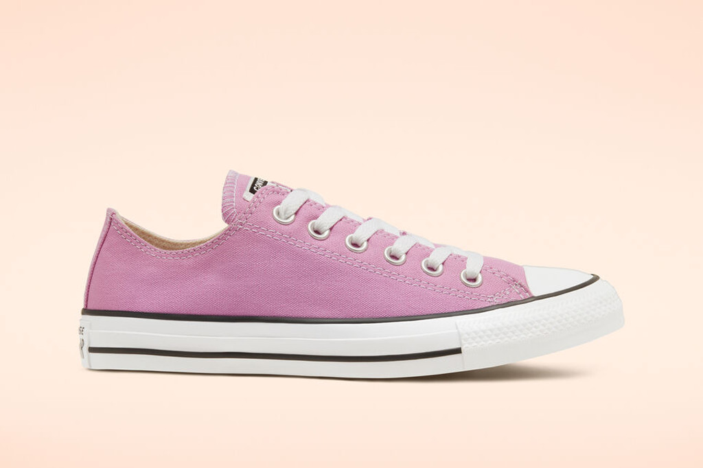 Pink high top, Seasonal Color Chuck Taylor All Star Low Top in Peony Pink, converse