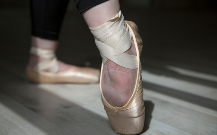 pointe shoes, ballet
