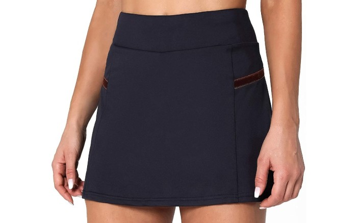Poshdivah Athletic Skirt with Shorts