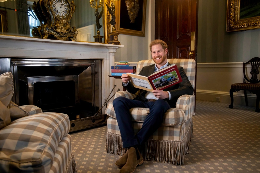 prince harry, thomas the train, chelsea boots, smile, style, book