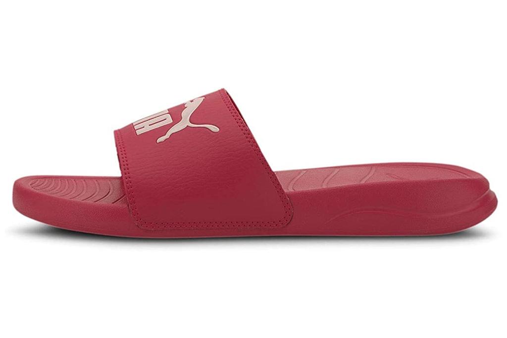 puma, slides, pink, hot pink
