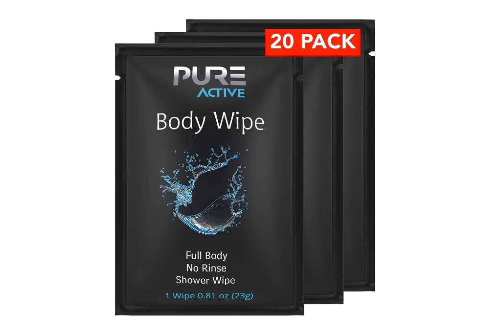 Pure Active Body Cleansing Wipes