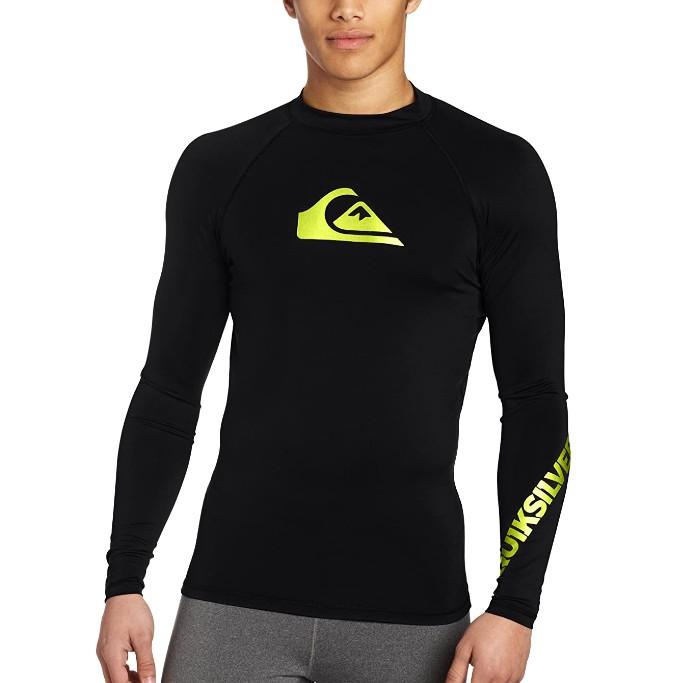 Quiksilver All Time Long Sleeve Swim Shirt