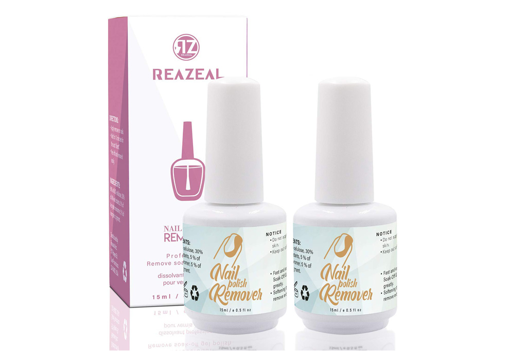 reazeal, gel polish remover