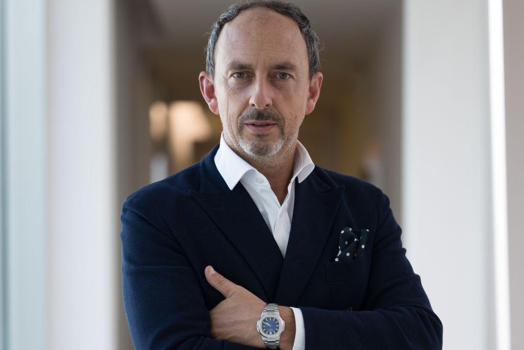 Sergio Rossi CEO, Riccardo Sciutto.