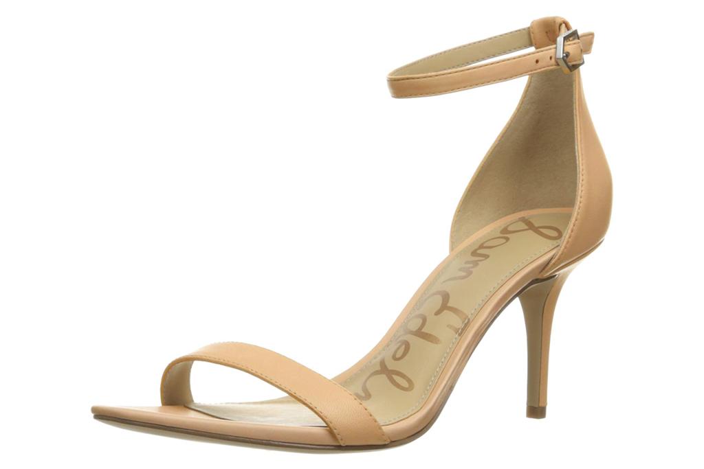 sam edelman, heels, sandals, nude