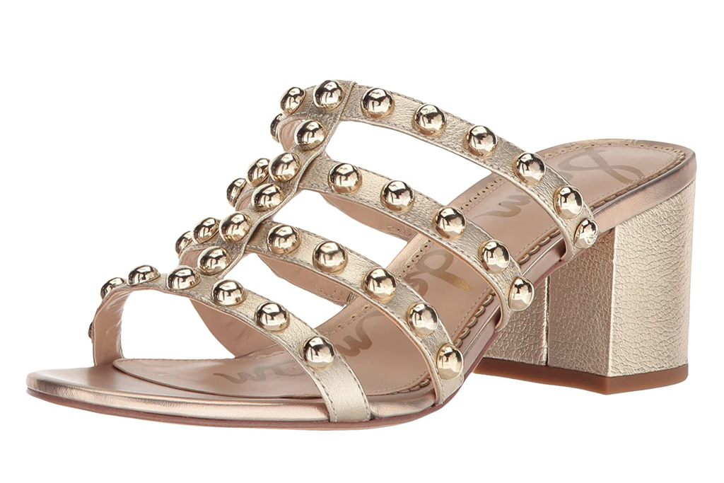 sam edelman, sandals, studded