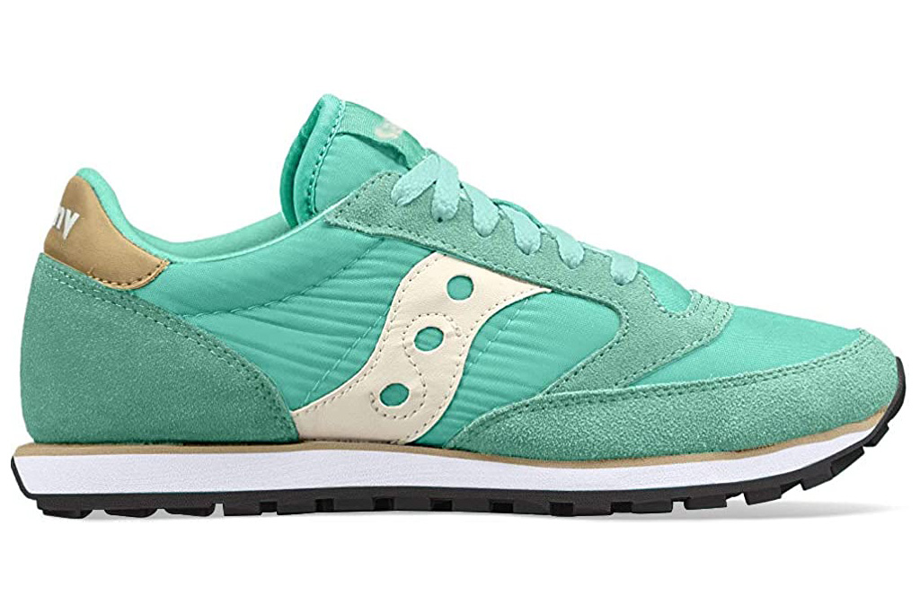 saucony, sneakers, blue, green