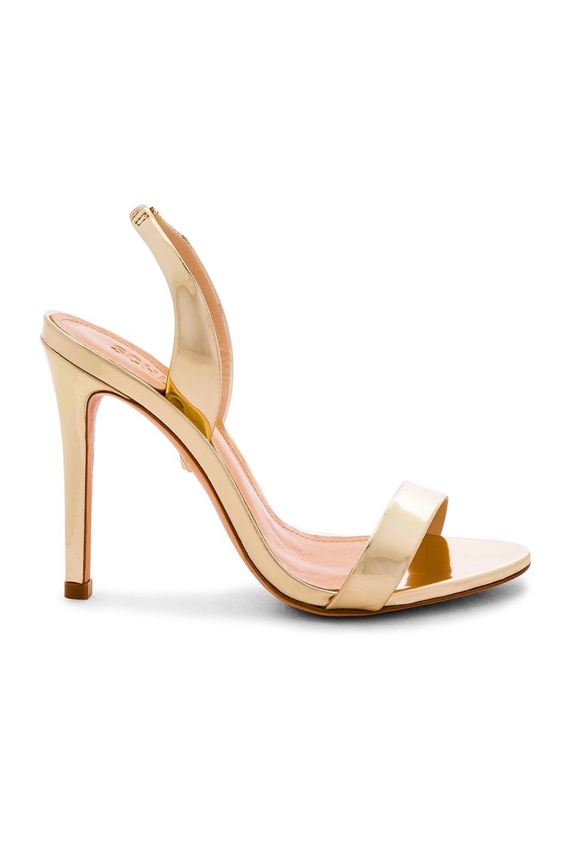 Schutz gold sandals