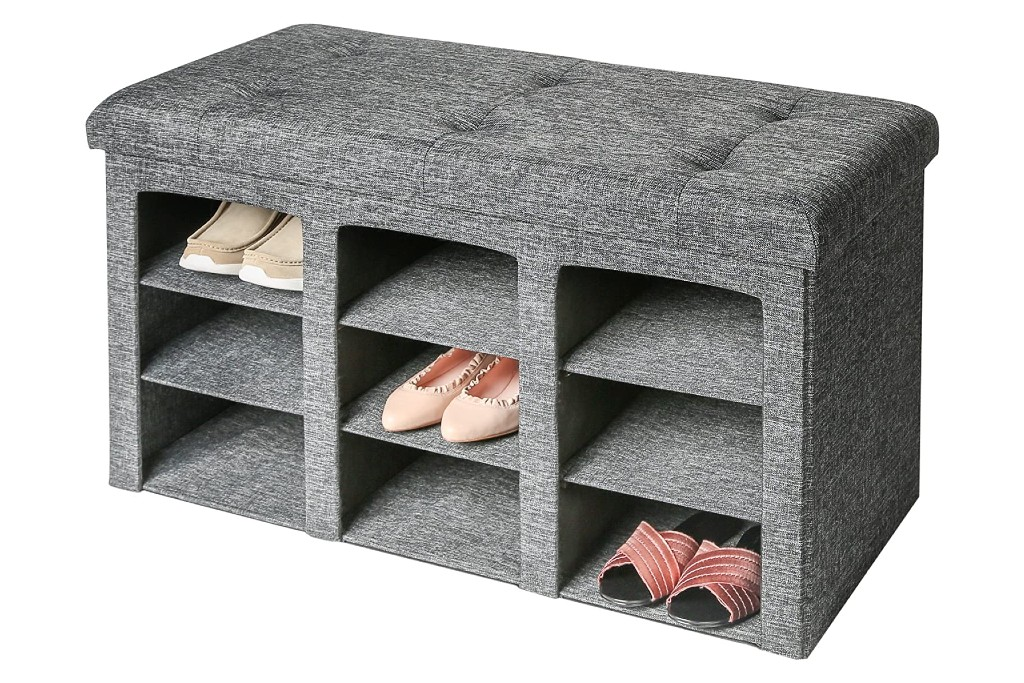 Seville Classics Shoe Storage Bench