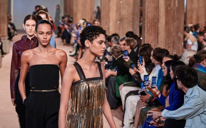 Models on the catwalkSalvatore Ferragamo show, Runway, Fall Winter 2020, Milan Fashion Week, Italy - 22 Feb 2020