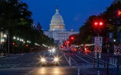 A view of the US Capitol