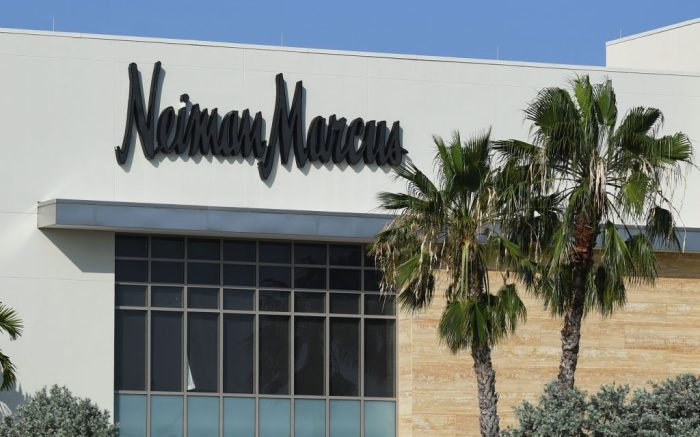 Neiman Marcus is reportedly ready to file for bankruptcy after the coronavirus crisis forced the American retailer to temporarily shut down dozens of its stores for the past month during the Coronavirus (COVID-19) pandemicCoronavirus outbreak, Fort Lauderdale, USA - 19 Apr 2020