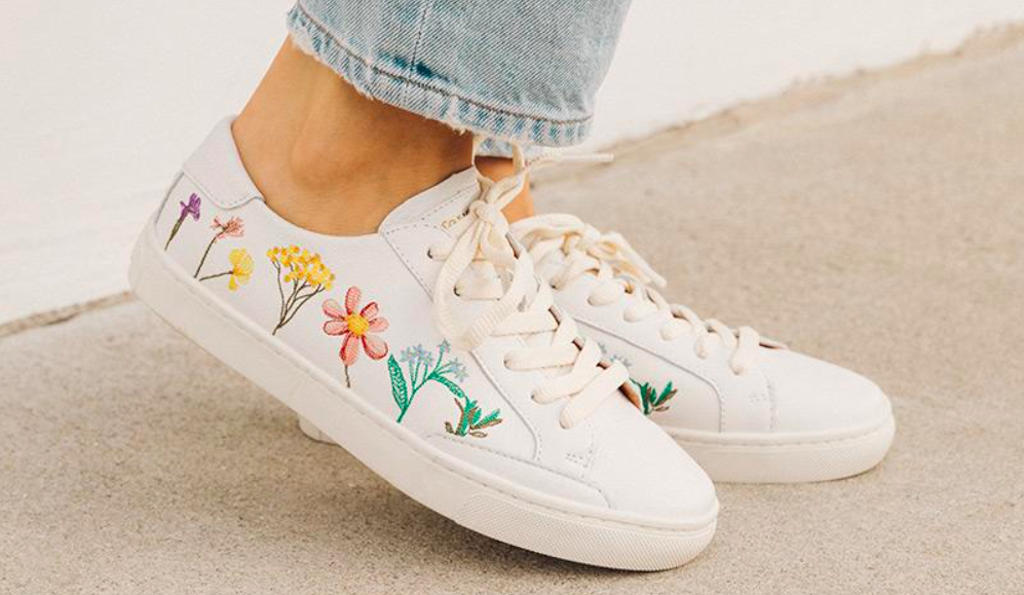 soludos floral ibiza sneaker, mother's day sneaker gifts