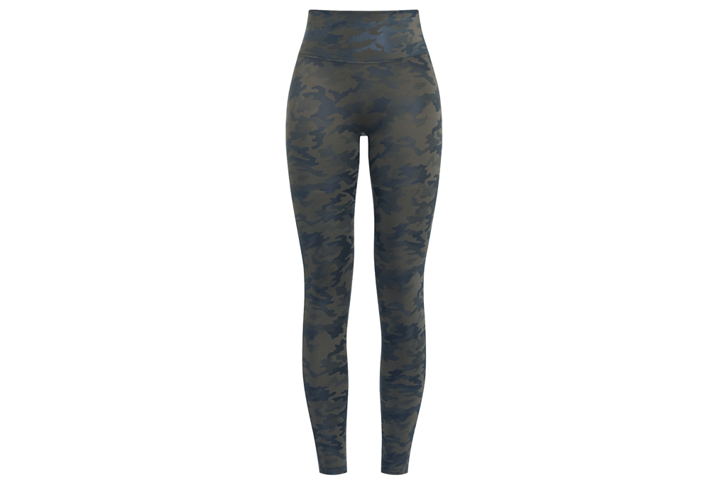 spanx, faux camo, leggings