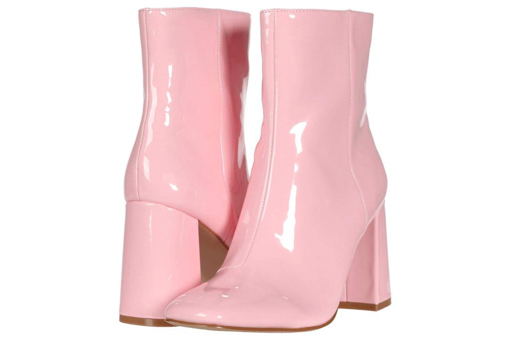 steve madden, boots, pink