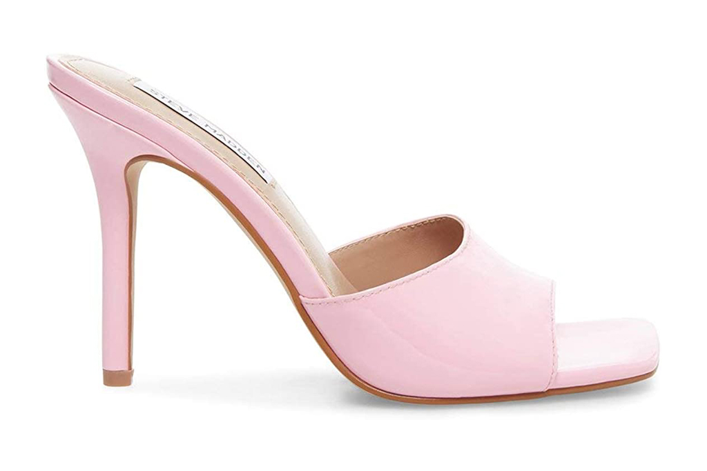 steve madden, mules, pink
