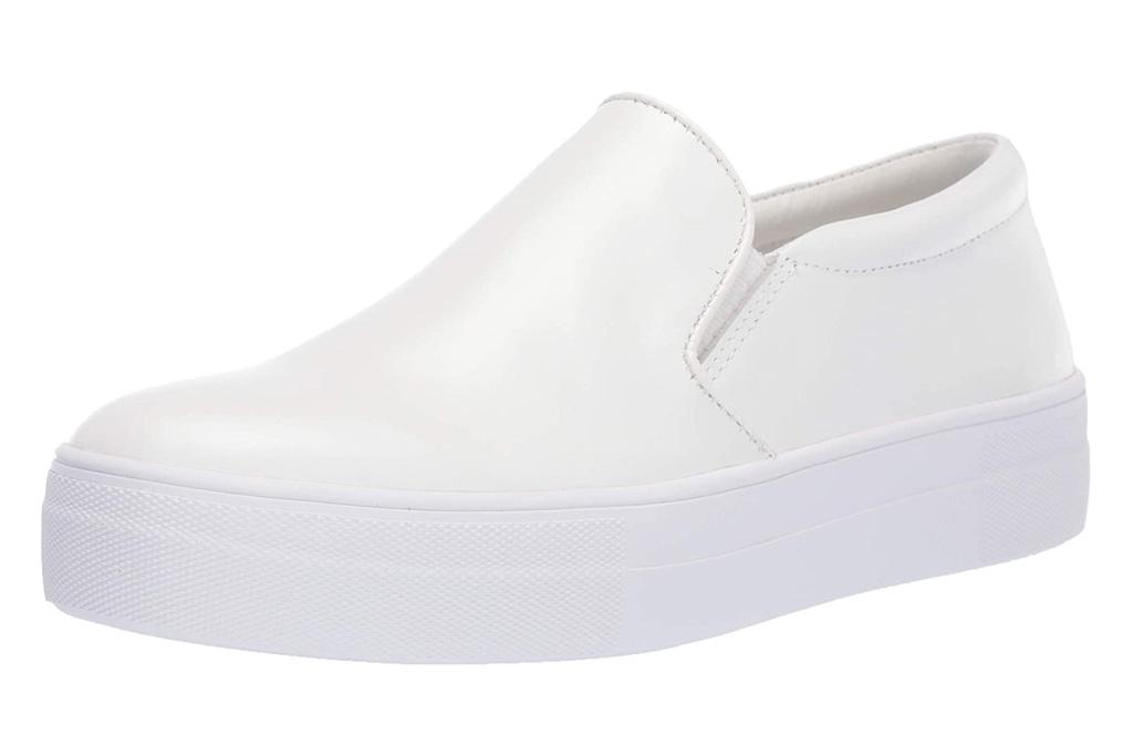 steve madden, sneakers, white, platform