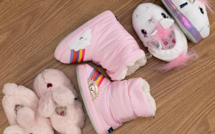 Stride Rite kids slippers