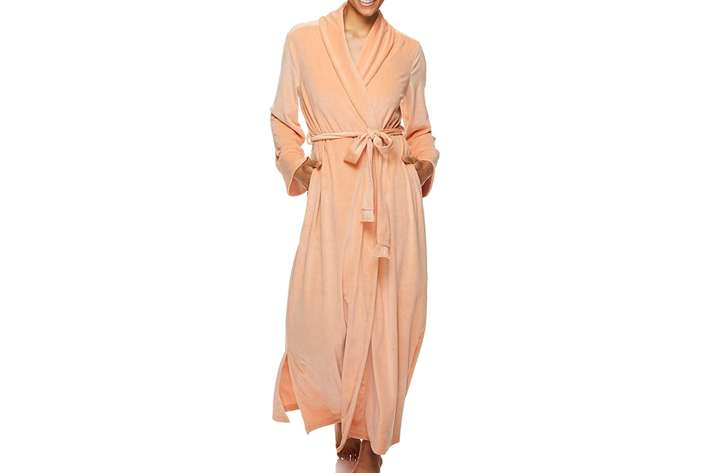 tahari, robe, velour