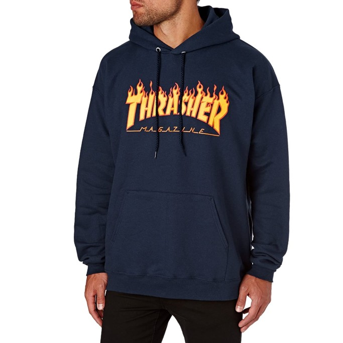Thrasher Flame Pullover Hoody