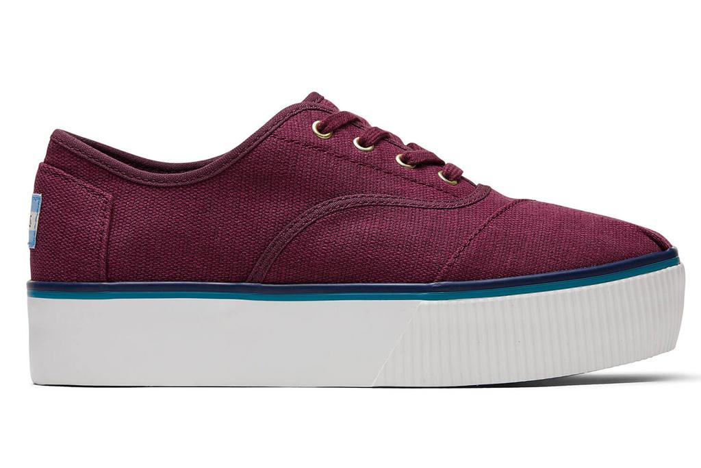 toms, platform sneakers