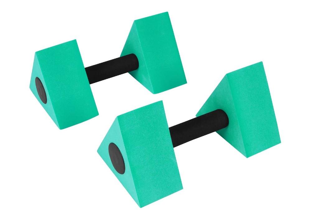 Trademark Innovations Triangular Aqua Dumbells