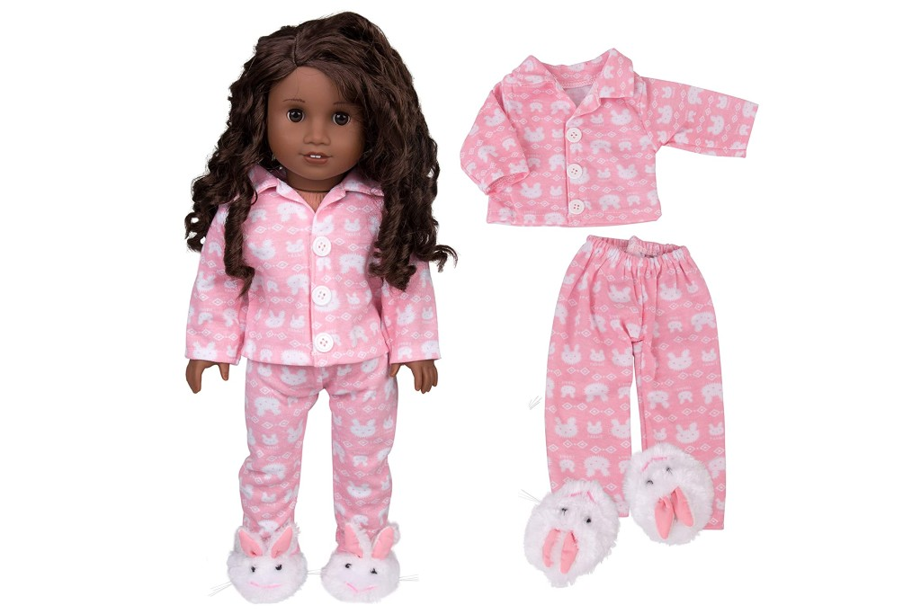 Dress Along Dolly Easter Bunny Pajamas