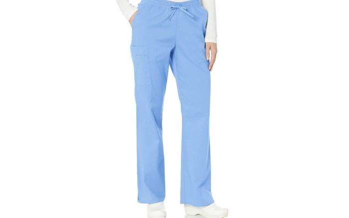 amazon essentials scrub pants