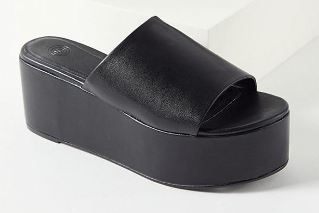 urban outfitters, sandals, slides, platform