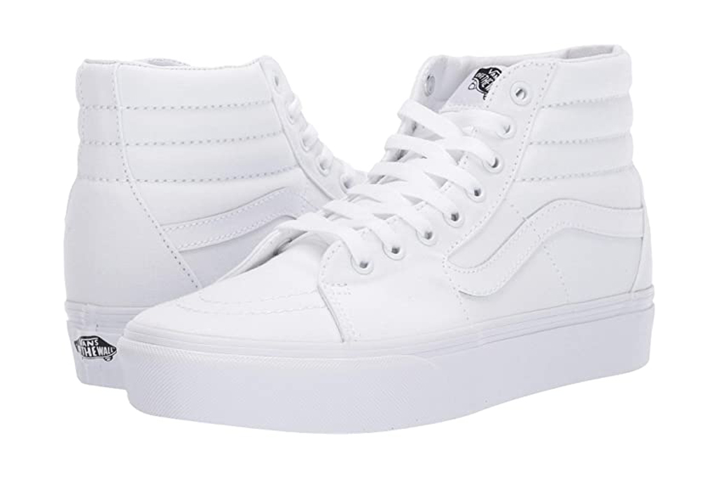vans, sneakers, white, high