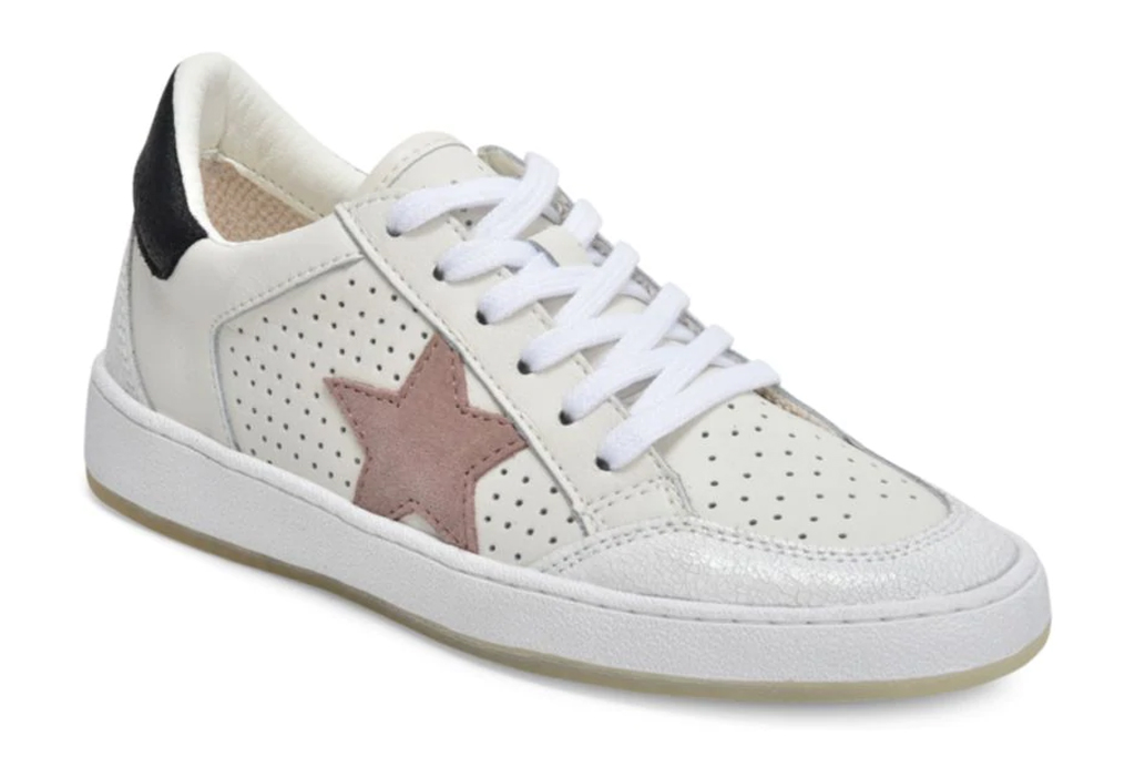 Vintage Havana Ginette Star Leather Sneakers