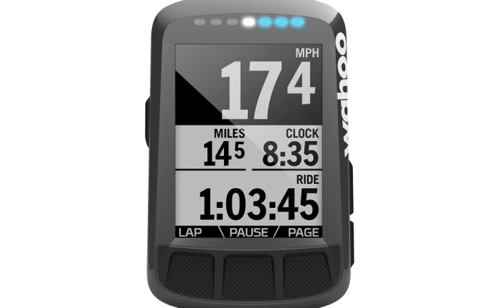 Wahoo Element Bolt GPS Bike Computer