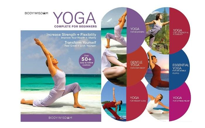 Yoga for Beginners Deluxe 6 DVD Set