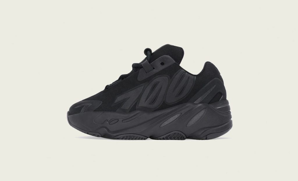 Adidas Yeezy Boost 700 MNVN 'Black' Infants Lateral