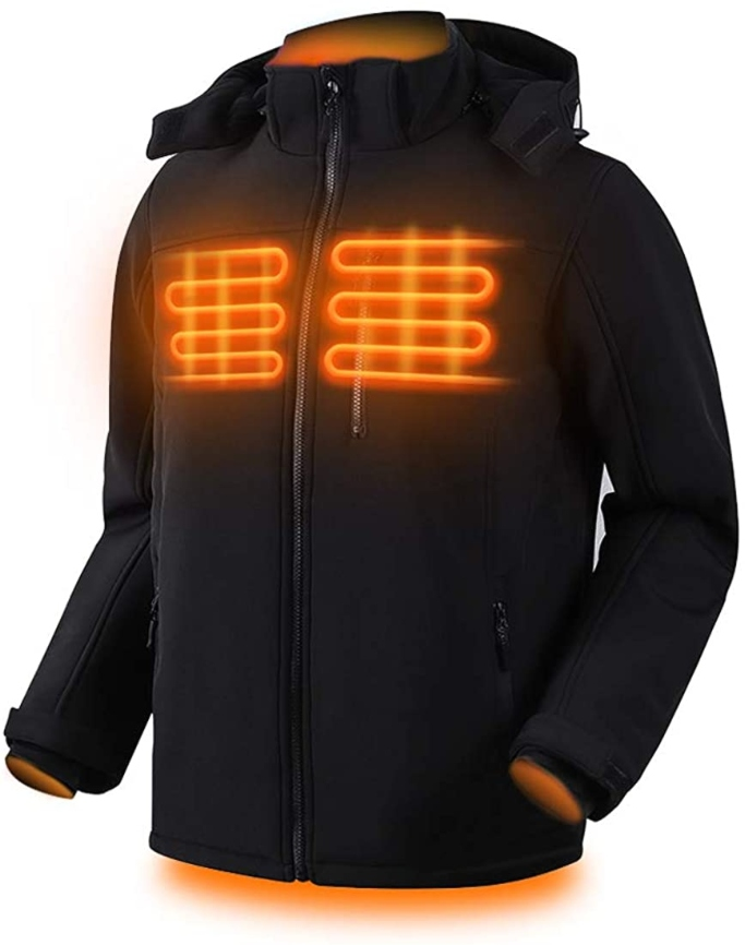 Dr.Qiiwi Electric Padded Men's Heated Jacket