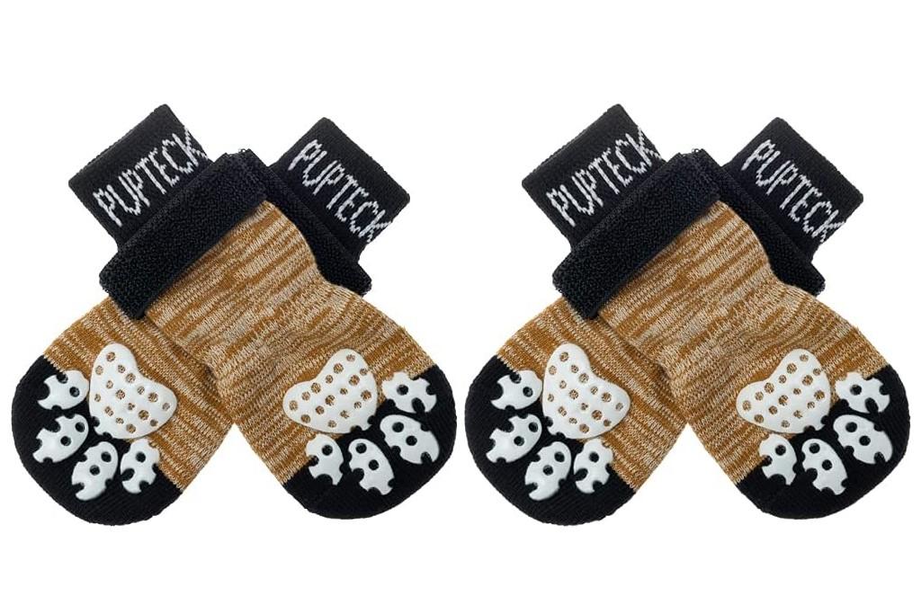 Pupteck Anti-Slip Dog Socks, dog socks