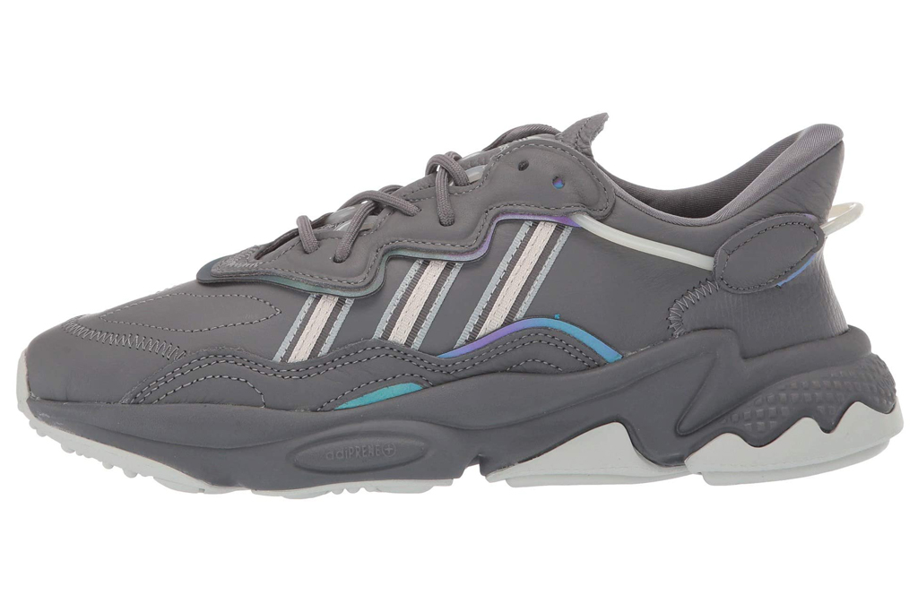 adidas, chunky sneakers, gray