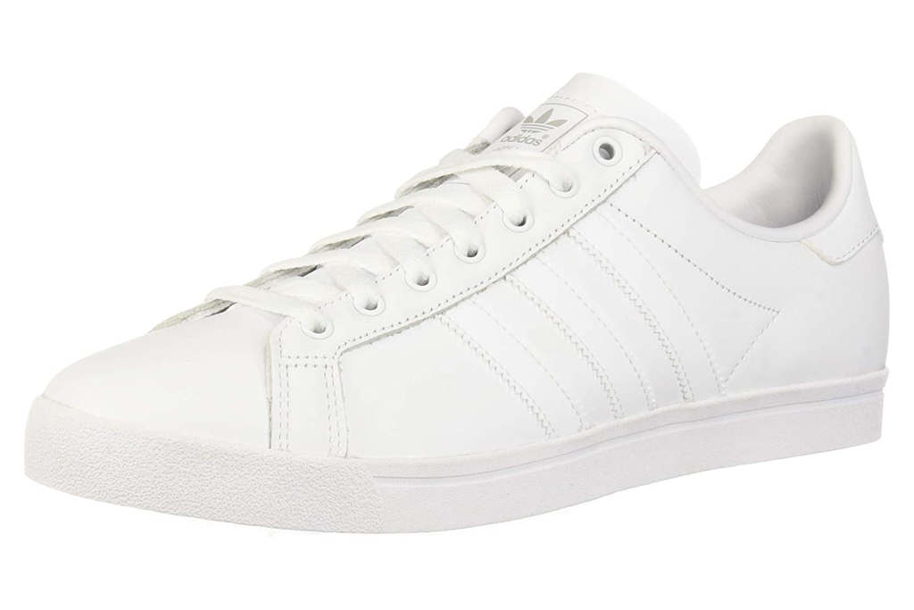 adidas, sneakers, white leather