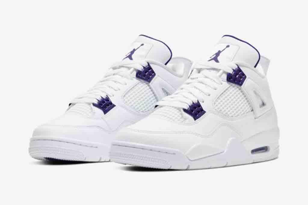 Air Jordan 4 'Metallic Purple' on