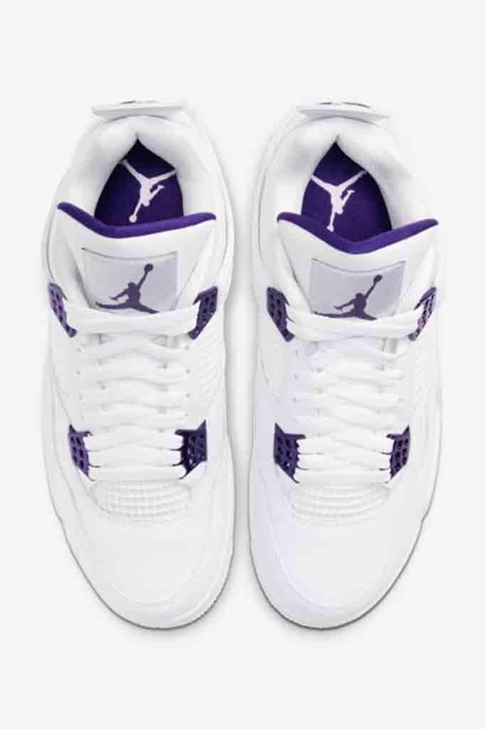 Air Jordan 4 Purple Metallic