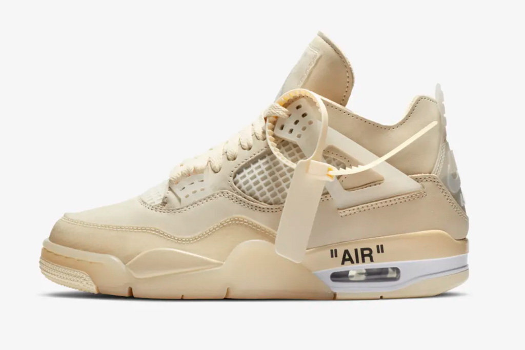 Off-White x Air Jordan 4: Release Info & Price – Footwear News