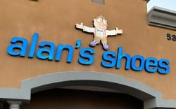 Alan's shoes Tucson