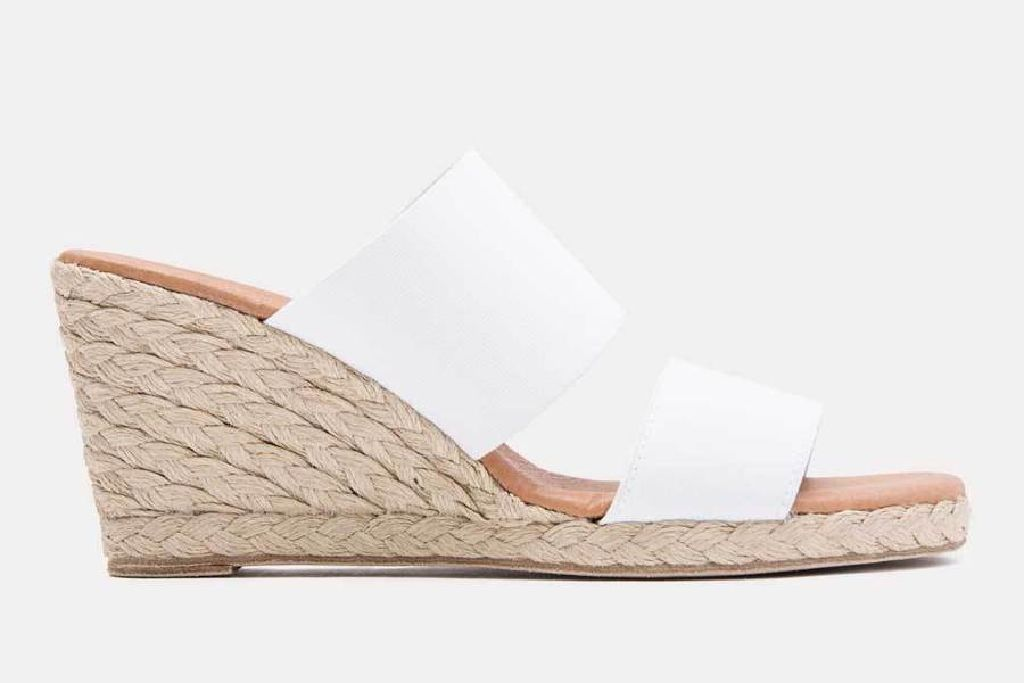 andre assous, wedge sandals, andre assous shoes, andre assous sandals
